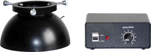 LED Diffuse Light Dome Illuminator for Stereo Microscopes for Exceptional Quality Photography
