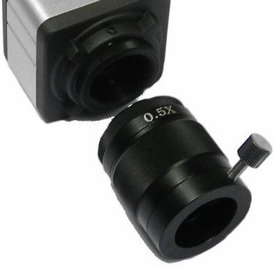 GXM-0.5X C-Mount Adapter for Microscopy C-Mount Cameras and all XTL3T* Microscope Heads