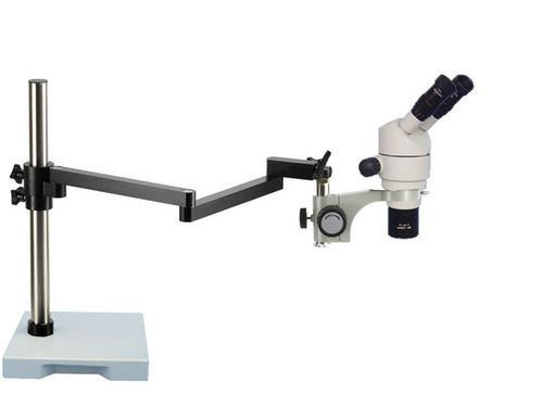 PSTV7, 8X - 80X Magnification, Long Reach Stereo Microscope,