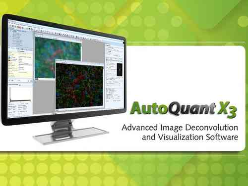 AutoQuant X3 Advanced Image Deconvolution and 3D Visualization Software for Life Science Research