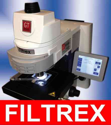 Filtrex Image Analysis System for Fully Automatic Filtered Particle Counting and Sizing ISO16232