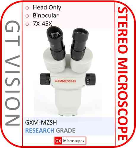 MZSH, 7X-45X Stereo Zoom Microscope Head Only