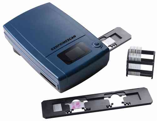 PrimeScan Microscope Slide Scanner.  Fast, Easy and 10,000dpi
