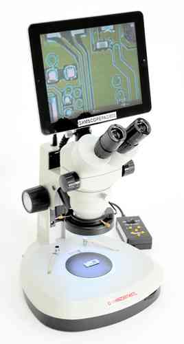MZSDIG 7X - 45X  Stereo Zoom Digital 1080P Microscope with Screen