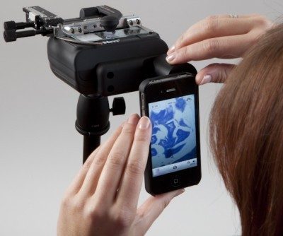 iPhone Microscope Camera Adapter for Newton Microscope for use with iPhones & most androids