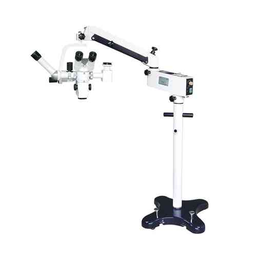 GXM-LZJ5D, 5 Step Zoom Ratio, Surgical Operating Microscope, Binocular, Floor Stand, Motorized Focus