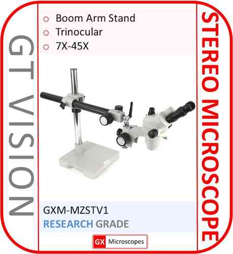 MZSTV1, 7X-45X, Stereo Long Reach Microscope