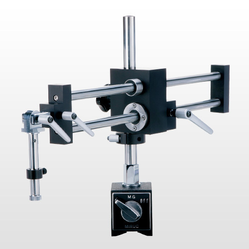 Magnetic Boom Arm : Mmsys microscope angled head on dual arm magnetic