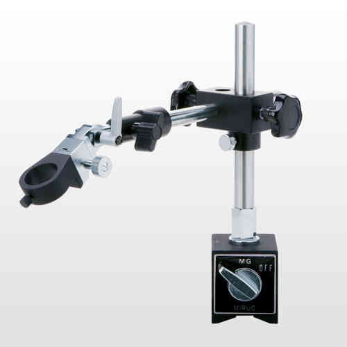 MM-STAND-FA-S Magnetic Boom Arm Pillar Stand with Articulated Holder for Miruc MM Series Microscopes