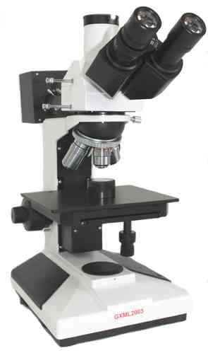 GXM-L2003AHTG 40X-400X, Trinocular, Routine Material Microscope, Reflected Light - GX VALUE RANGE