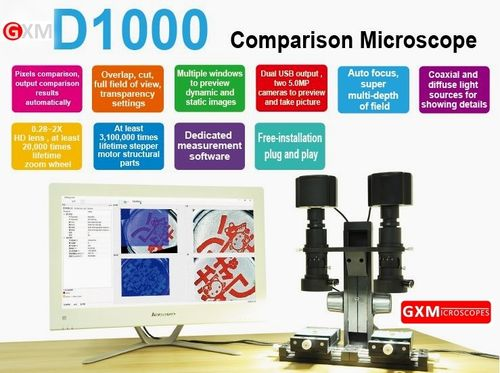 Comparison Microscope - Unique Advanced Fully Digital
