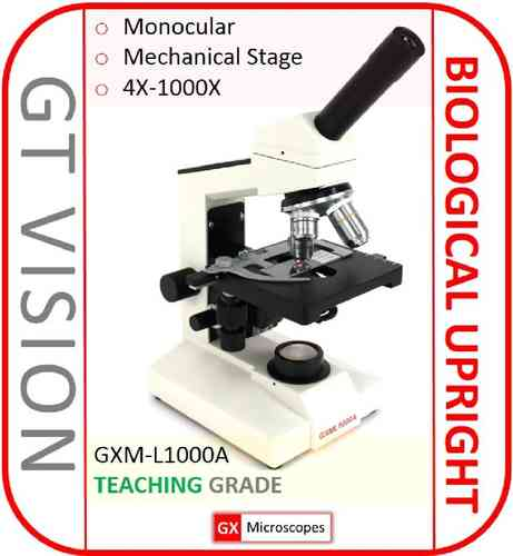 GXM-UltraBIO-2 40X-1000X Teaching, Biological, Monocular Microscope