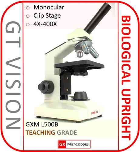 GXM-UltraBIO-1 40X-400X Teaching, Biological, Monocular Microscope