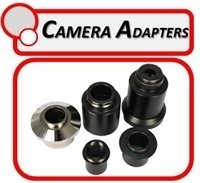 Microscope Camera Adapters to fit phototubes and eyepiece tubes for C-mount and DSLR cameras