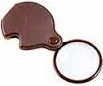 3.5X Folding Pocket Magnifier 45mm Diameter with Case.