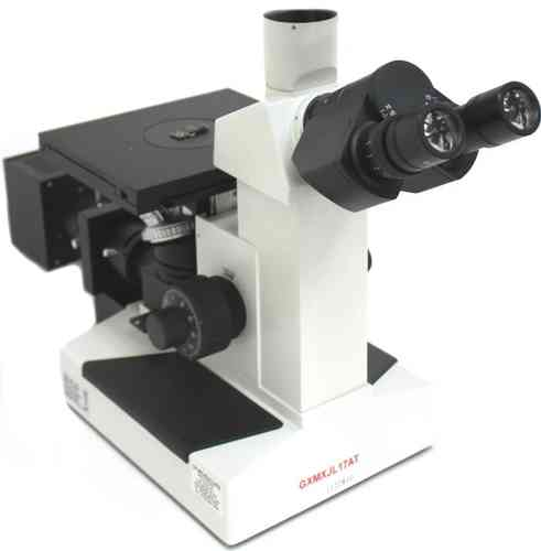 GXM-XJL17AT, 100X - 600X, Routine and Research, Inverted Metallurgical Microscope