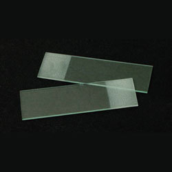 "Frosted End Glass Microscope Slides (3""x1"" - 25.4mm X 76.2mm) packed into 5 Boxes of 50"