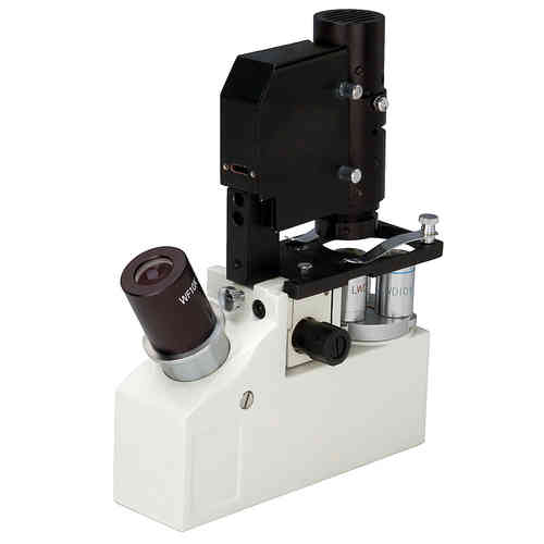 LED Portable Inverted Biological Microscope with Case 40X-400X only 1.5Kg!
