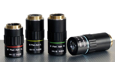 10X Microscope LWD Objective Plan APOchromatic, Infinity Corrected, Wide Mount For GXMZ Monozoom
