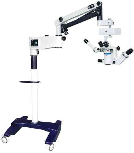 GXM-LZJ6E, 5 Step Zoom Ratio, Surgical Operating Microscope, Binocular, Floor Stand