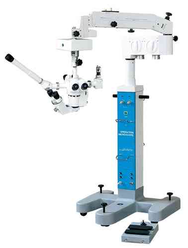 GXM-LZL21, Surgical Operating Microscope, Binocular, Floor Stand, Motorized Focus