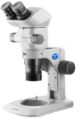 OLYMPUS SZ7X10 6.3X-63X  Magnification, Routine, Stereo Zoom Microscope, No Illumination
