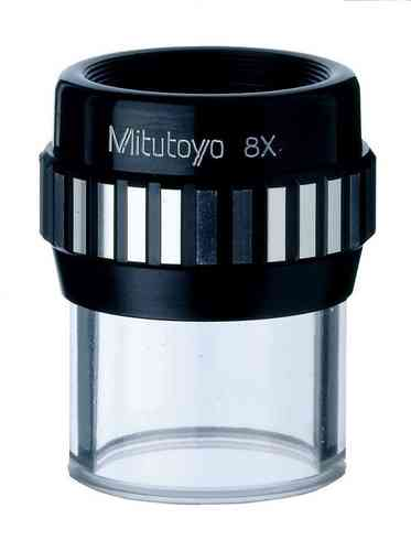 Mitutoyo - 8X Interchangeable Reticule Comparator, Pocket Magnifier,