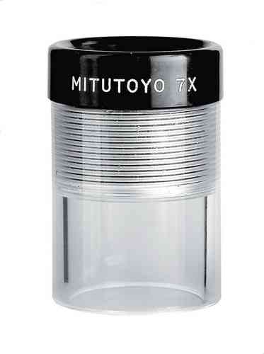 Mitutoyo - 7X Clear Loupe Magnifier, Pocket Magnifier,