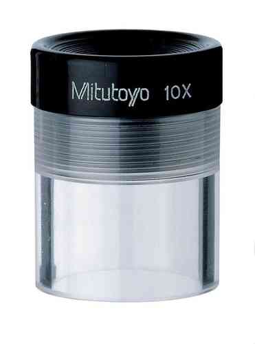 Mitutoyo - 10X Clear Loupe Magnifier, Pocket Magnifier,