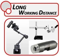 Long Working Distance Microscopes & Lenses