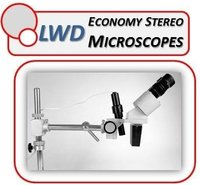 Long Working Distance, Low Cost, Interchangeable Magnification Stereo Microscopes