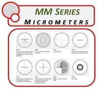 MM Series Eyepiece Reticle Micrometers