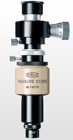 MM-MF-1(A) Microscope - Lens Barrel - Straight Tube, 20X Mag, 10X Micrometer Eyepiece, 2X Objective