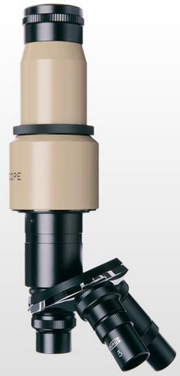 MM-MR-M1(A) Microscope - Lens Barrel - Straight Tube Rotating Turret 3 Objectives Max. 100X (200X)