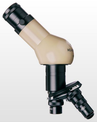 MM-MR-45 Microscope - Lens Barrel - 45 Deg. Tube, Rotating Turret 3 Objectives Max Mag 100X (200X)