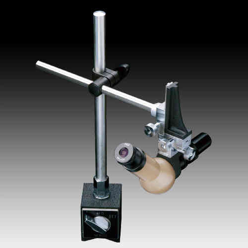 MMSYS-2 Microscope. Angled Head, 7X-45X Zoom on a 3 Axis Boom Stand, Options to 90X