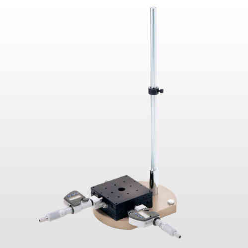 MM-STAND-DXY Free Standing Pillar Stand with Micrometer Measurement for Miruc MM Series Microscopes