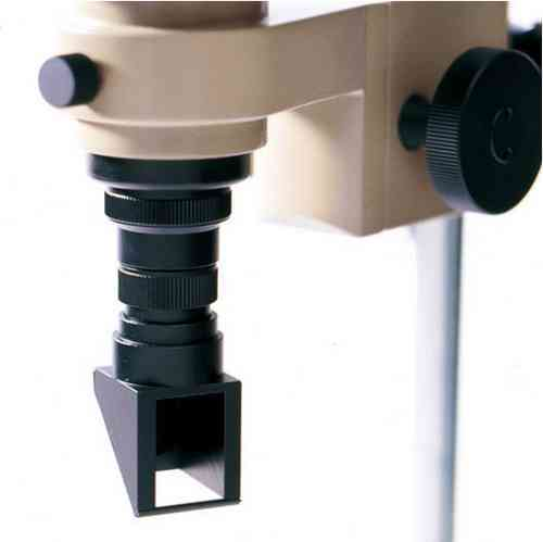 90 Degree Angled Viewer for a MM Series microscope with 1X or 2X Objective Fitted MM-RMB-1-2X