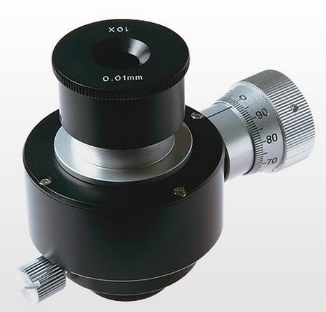 Moveable Micrometer for Ultra-Fine Measurements in Eyepiece for MM Series Microscopes MM-OSM-MF