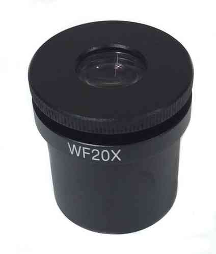 GXM- 20X Focussing Eyepiece With Reticule Scale, With 100 Divisions, For MZS Series