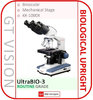 UltraBIO-3 40X-1000X Routine Grade, Upright Microscope - GX VALUE RANGE