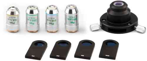 Phase Contrast Kits for SMART Series Microscopes.  SELECT FROM THE LIST: