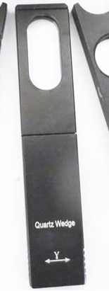 1st-7th Order Quartz Wedge for use with GX Microscopes XPLPOLTEC Polarising Microscopes