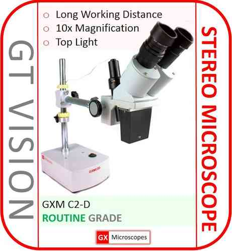 C2-D Stereo Microscope, PCB/Phone Repair LED - GX VALUE RANGE