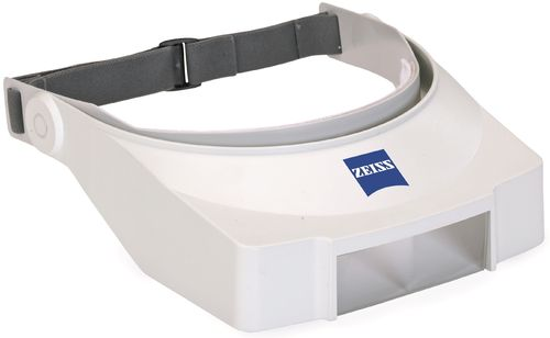 Zeiss Head Mounted Magnifier 1.25X, 200mm Working Distance, 83x100mm Field of View - D4