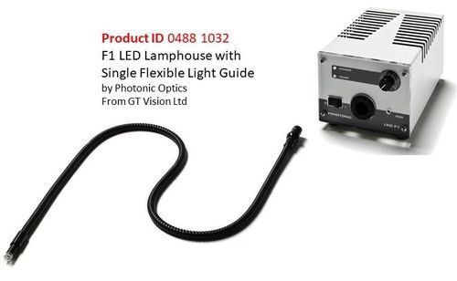 LED Lamphouse with a Flexible Fibre Optic Light Guide by Photonics Optics