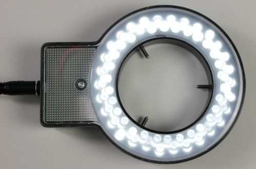 iLUMos LED Ringlight, Adjustable Intensity for Stereo Microscopes