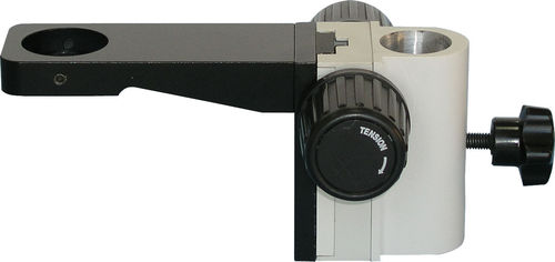 GXM- 39mm Focus Ring Microscope Holder, No Illumination, for use with 25mm Pole stand or Arbour