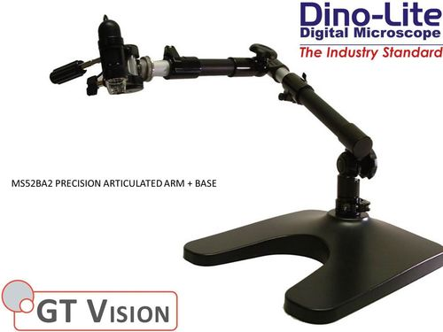 Dino-Lite MS52BA2 Digital Microscope Professional Articulated Arm + Base