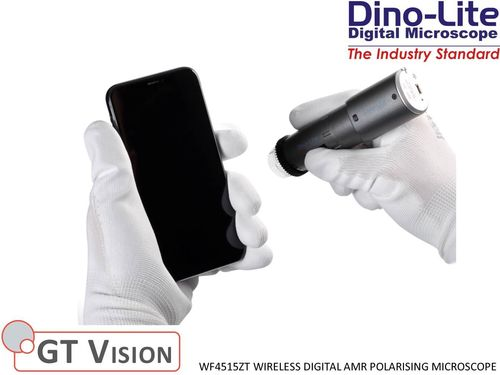 Dino-Lite WF4515ZT Digital Wireless AMR Polarising Microscope 20-220X 1.3MP